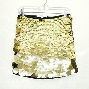 NWT Trina Turk Gild Sequin Mini Kalina Skirt Sz 2
